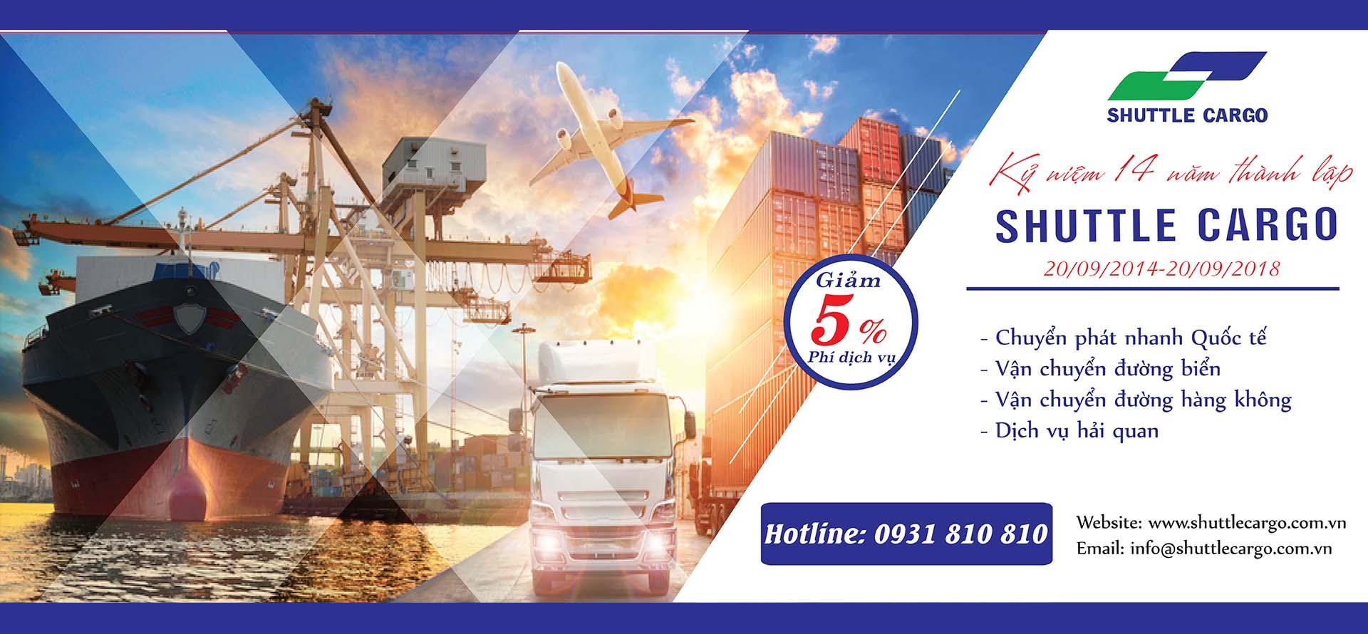 Kỷ niệm 14 năm thành lập công ty Shuttle Cargo
