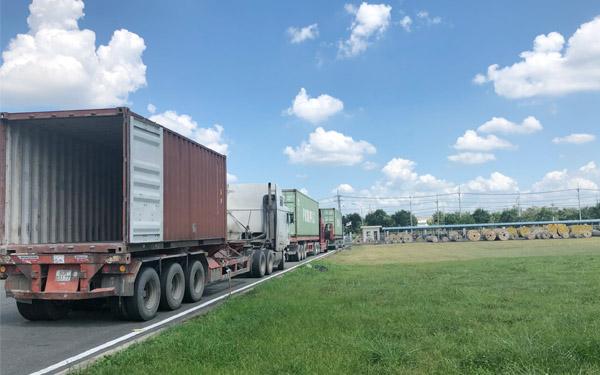 Dự án vận chuyển hàng hóa đường bộ
